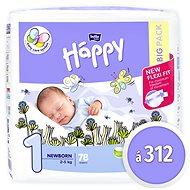 BELLA Baby Happy New Born veľ. 1 (312 ks) - Detské plienky