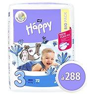 BELLA Baby Happy Midi veľ. 3 (288 ks) - Detské plienky