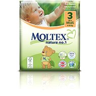 MOLTEX nature no. 1 Midi 4 - 9 kg (34 ks) - Detské plienky