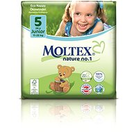 MOLTEX nature no. 1  Junior 11 – 25 kg (26 ks) - Eko plienky