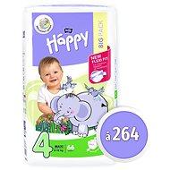 BELLA Baby Happy veľ. 4 Maxi (264 ks) - Detské plienky