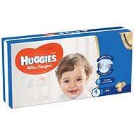 HUGGIES Ultra Comfort Jumbo veľ. 4 (54 ks) - Detské plienky