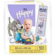 BELLA Baby Happy Detské podložky 60 × 60, (10 ks) - Podložka na prebaľovanie