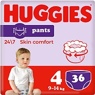 HUGGIES Pants Jumbo -  4 (36 ks) - Plienkové nohavičky