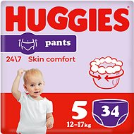 HUGGIES Pants Jumbo – 5 (34 ks) - Plienkové nohavičky