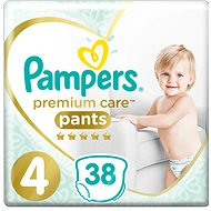 PAMPERS Pants Premium Care Maxi veľ. 4 (38 ks) - Plienkové nohavičky