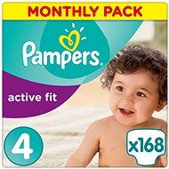 PAMPERS Active Fit veľ. 4 (168 ks) – mesačné balenie