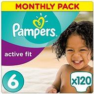 PAMPERS Active Fit veľ. 6 (120 ks) – mesačné balenie