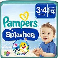 PAMPERS Splashers vel. 3 (5–9 kg) 12 ks - Plienkové plavky