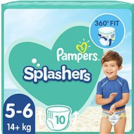 PAMPERS Splasher veľ. 5 (10 ks)