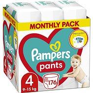 PAMPERS Pants vel. 4 (176 ks) - měsíční zásoba - Plienkové nohavičky