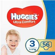 HUGGIES Ultra Comfort Jumbo veľkosť 3 (56 ks) - Detské plienky