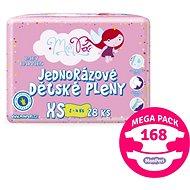 MonPeri Klasik Mega Pack veľ. XS (168 ks) - Detské plienky