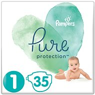 PAMPERS Pure Protection veľ. 1 (35 ks)