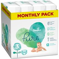 PAMPERS Pure Protection veľ. 3 (124 ks)