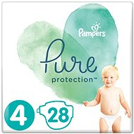 PAMPERS Pure Protection veľ. 4 (28 ks)
