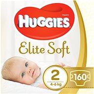 HUGGIES Elite Soft veľ. 2 (160 ks) - Detské plienky