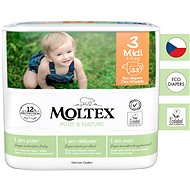 MOLTEX Pure & Nature Midi veľ. 3  (33 ks)