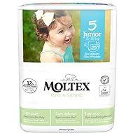 MOLTEX Pure & Nature Junior veľ. 5 (25 ks) - Eko plienky