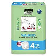 Muumi Baby Walkers veľ. 4 (40 ks) - Eko plienkové nohavičky