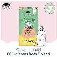 Muumi Baby BIGPACK veľ. 5 (66 ks) - Eko plienky