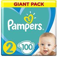 PAMPERS Active Baby veľ. 2 (100ks) 4 – 8kg