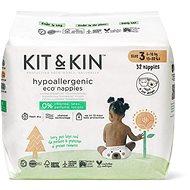 Kit & Kin Eko Naturally Dry Nappies veľ. 3 (34 ks) - Eko plienky