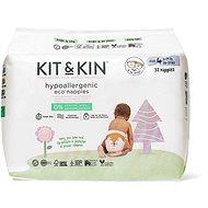 Kit & Kin Eko Naturally Dry Nappies veľ. 4 (34 ks) - Eko plienky