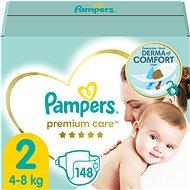Detské plienky PAMPERS Premium Care, veľ. 2 (148 ks)
