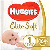 HUGGIES Elite Soft veľ. 1 (2× 82 ks) - Detské plienky
