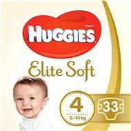 HUGGIES Elite Soft veľ. 4 (33 ks)