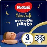 HUGGIES Elite Soft Pants cez noc Pants veľ. 3 (23 ks) - Plienkové nohavičky