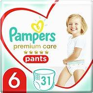 PAMPERS Pants Premium Care Extra Large veľ. 6 (31 ks) - Plienkové nohavičky