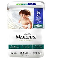 MOLTEX Naťahovacie plienkové nohavičky XL, +14 kg (18 ks)