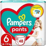 PAMPERS Pants Veľkosť 6, (48 ks), 15 kg+ - Plienkové nohavičky