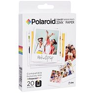 "Polaroid Zink 3× 4"" 20 ks - Fotopapier"