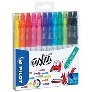 PILOT Frixion Colors 0.39 - 0.7 mm, súprava 12-tich farieb - Fixky