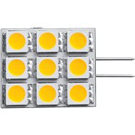 Panlux LED Kapsula 120 9 LED G4 studená - LED žiarovka