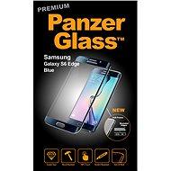 PanzerGlass Premium pre Samsung Galaxy S6 edge čierne - Ochranné sklo