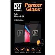 PanzerGlass Edge-to-Edge pre Apple iPhone 6/6s/7/8 čierne CR7 - Ochranné sklo