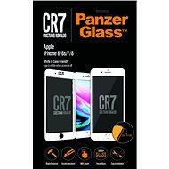 PanzerGlass pre iPhone 6/6s/7/8 Biele CR7 - Ochranné sklo