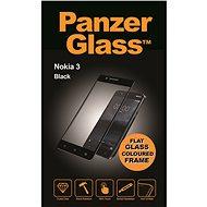 PanzerGlass na Nokia 3, čierne - Ochranné sklo