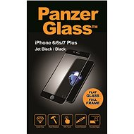 PanzerGlass Edge-to-Edge pre Apple iPhone 6/6s/7 Plus čierne (CaseFriendly) - Ochranné sklo