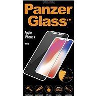 PanzerGlass Edge-to-Edge pre Apple iPhone X biele (CaseFriendly) - Ochranné sklo