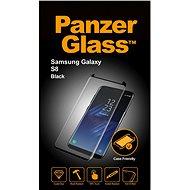 PanzerGlass Samsung S8 Čierne Case Friendly - Ochranné sklo
