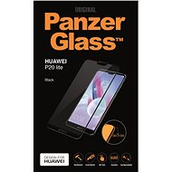 PanzerGlass Edge-to-Edge pre Huawei P20 Lite čierne - Ochranné sklo