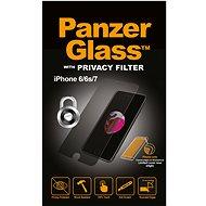 PanzerGlass Standard Privacy pre Apple iPhone 6/6s/7/8 číre - Ochranné sklo