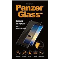 PanzerGlass Premium pre Samsung Galaxy Note 9 čierne Case friendly Privacy - Ochranné sklo