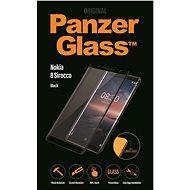 PanzerGlass Edge-to-Edge pre Nokia 8 Sirocco čierne - Ochranné sklo