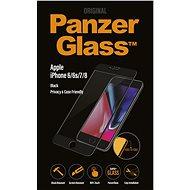 PanzerGlass Edge-to-Edge Privacy pre Apple iPhone 6/6s/7/8 čierne - Ochranné sklo